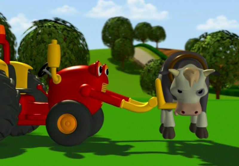 Tom le tracteur dessin anim - Tracteur tom dessin anime ...