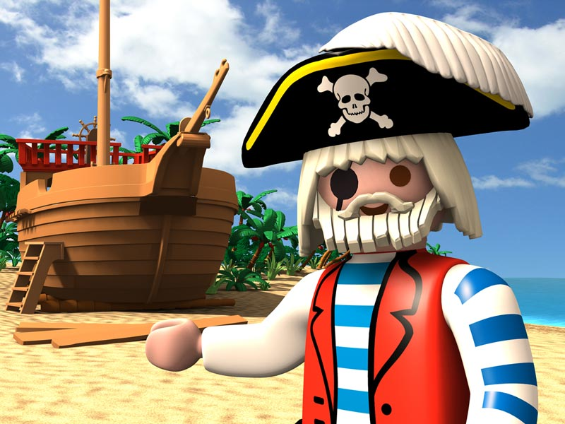 Playmobil : Pirate à l'abordage ! [DS]