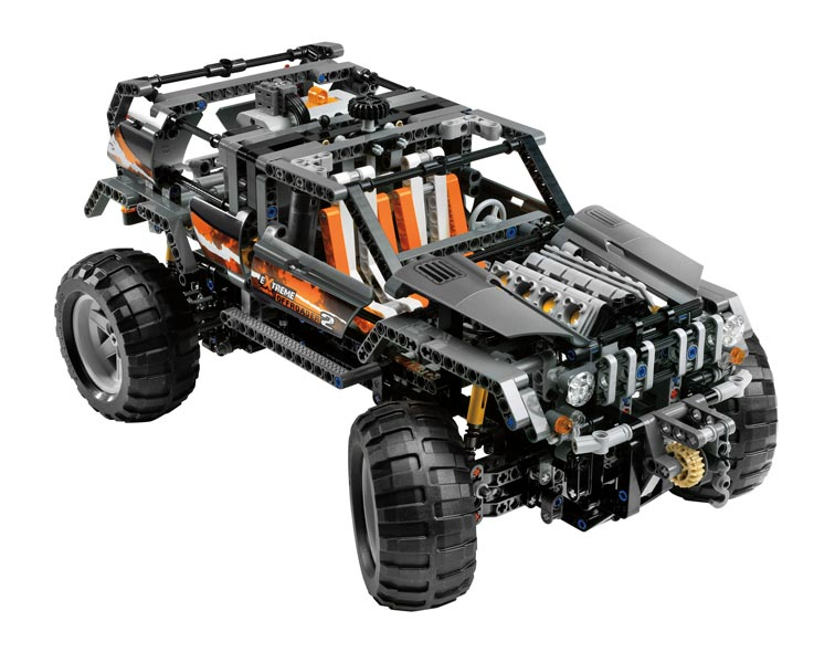 top lego technic 4x4 motoris filles et gar ons jouets. Black Bedroom Furniture Sets. Home Design Ideas