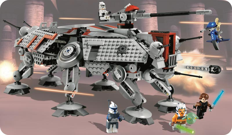 click to open image - Lego Star Wars Vaisseau Clone