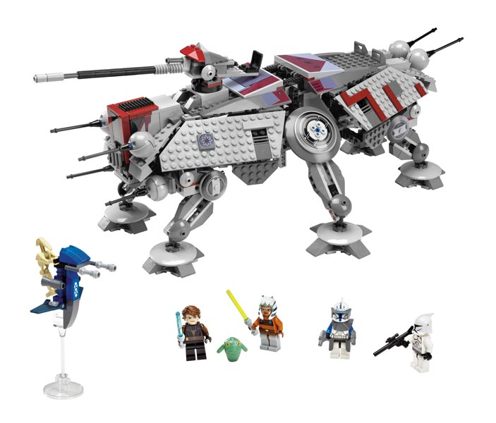 top lego star wars clone wars at te walker filles et gar ons jouets. Black Bedroom Furniture Sets. Home Design Ideas