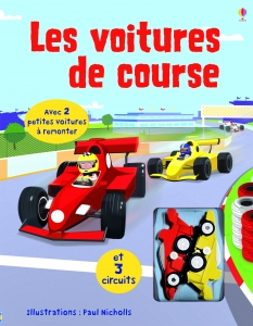 top les voitures de course livre circuit usborne coin des petits jouets. Black Bedroom Furniture Sets. Home Design Ideas