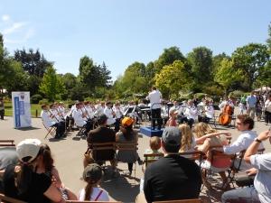 Top harmonies musiques et fanfares au jardin for Sortie famille yvelines