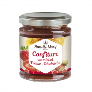 Confiture_Fraise_Rhubarbe_Famille_Mary