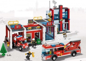 avec les nouveauts pompiers lego city les enfants deviendront des hros - Lego City Pompier