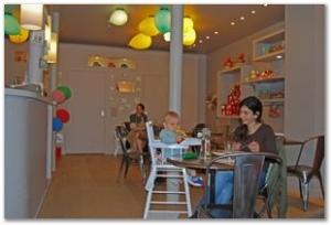 Cafe Enfant Square Montholon